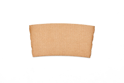 Kraft Hot Drink Sleeve (fits 8oz. Cups-No Printing)
