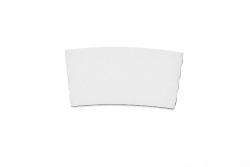White Hot Drink Sleeve (fits 8oz. Cups-No Printing)